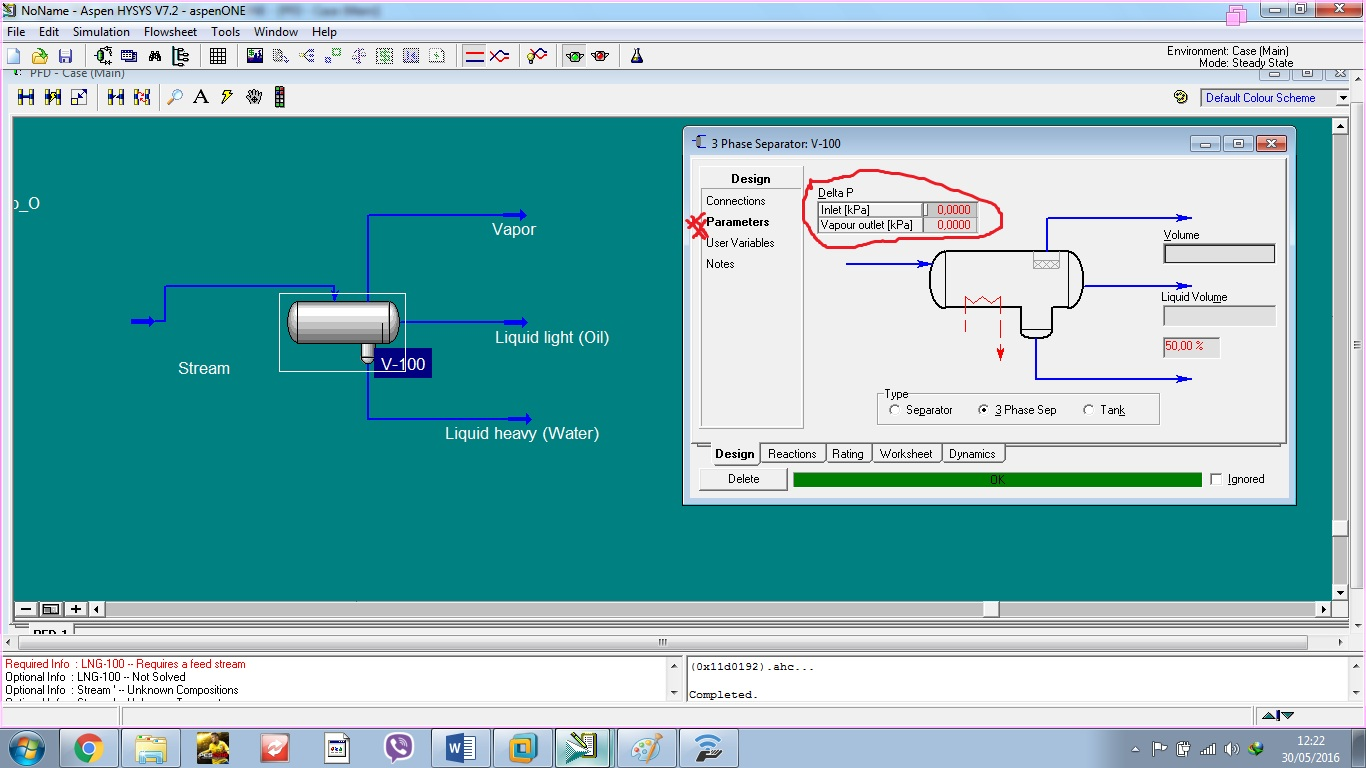 Simulation With Aspen HYSYS: Simulation of Separation Operations ...