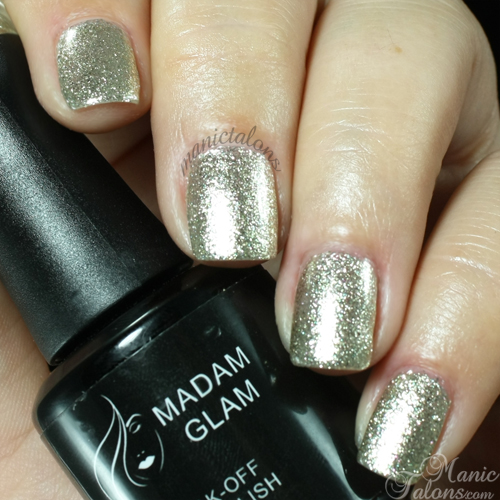 Madam Glam #126 Golden Queen Swatch