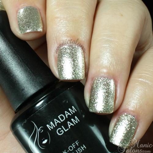 Madam Glam #126 Golden Queen Swatch