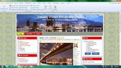 218 Download Free Template Joomla 17 Dan 25 Pembuatan Blog Dan