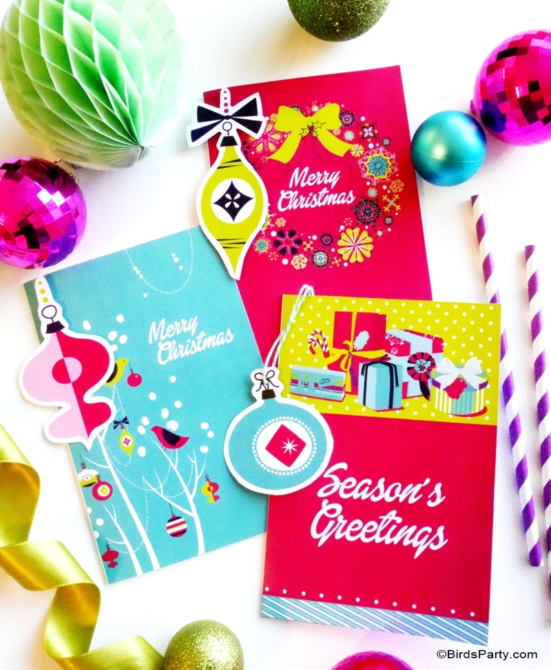A Holiday Crafting Party with DIY Printables - FREE 7-day trial download of ANY graphics, images and clipart to help you craft in style!