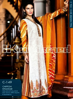 Gul Ahmed Embroidered Dress