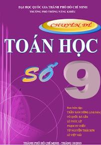 Chuyên đề Toán học số 9 Phổ thông năng khiếu, chuyen de toan so 9
