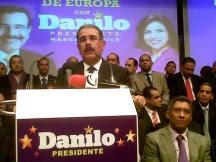Danilo dará a conocer el 27 programa de gobierno