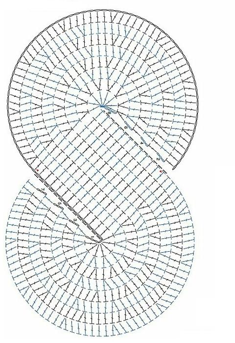 Crochet chales patrones - Imagui