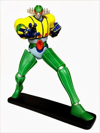 Jeeg Robot modellino in anteprima da Yamato Video per Lucca Comics