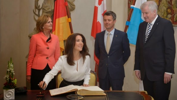 Prince Frederik And Princess Mary On Their Visit To Germany Day 2