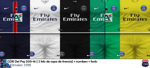 o uniforme do psg