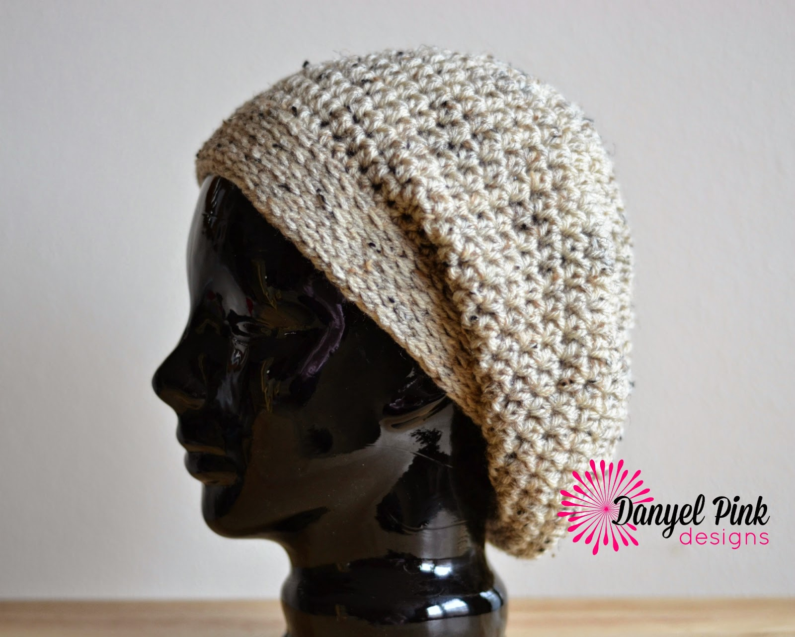 Danyel Pink Designs: CROCHET PATTERN - Super Slouch Hat