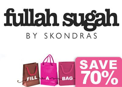 Εκπτώσεις -70%. Fullah Sugah by Skondras. Sales