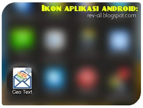 Ikon aplikasi Geo Text - aplikasi android untuk mengirimkan lokasi GPS perangkat android(rev-all.blogspot.com