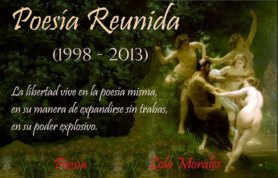 Poesía de  Lolo Morales,  Poesía Reunida (1998-2014)
