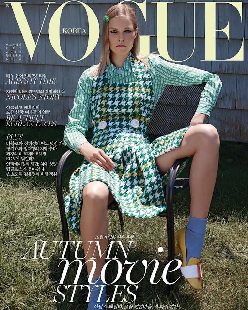 Fashion Model @ Suvi Koponen - Vogue South Korea, October 2015