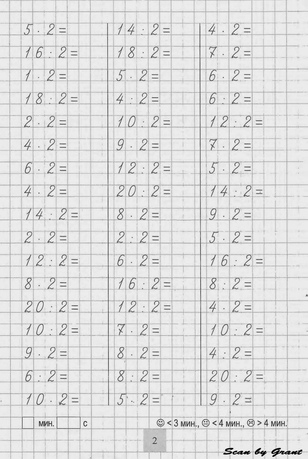 свойства умножения и деления чисел