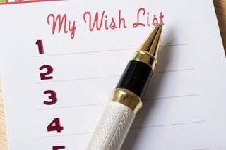 Список моих  желаний