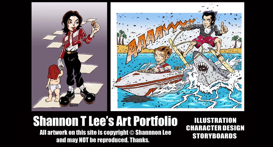 Shannon T Lee's Art Portfolio