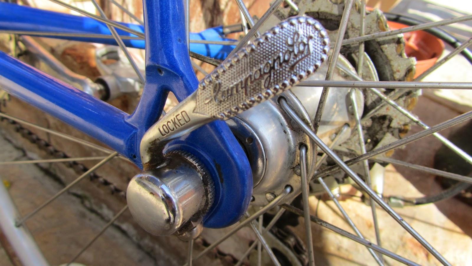 bicicleta orbea contrarreloj- cierre campagnolo