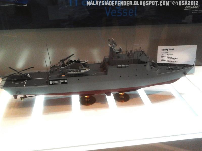 RMN NEW TRAINING SHIP