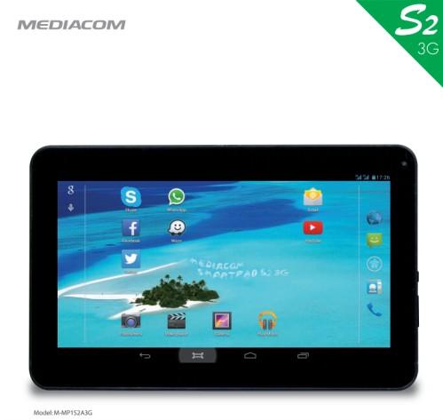 Nuovo tablet da 10 pollici dual sim per telefonare mediacom