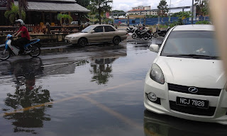 Wet wet wet: flooding in Malacca Malaysia