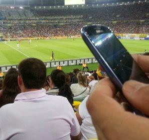 Metade dos estádios da Copa do Mundo não terá rede Wi-Fi