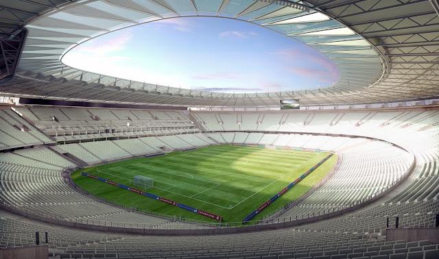 Estádio Castelão receberá cobertura e nova arquibancada