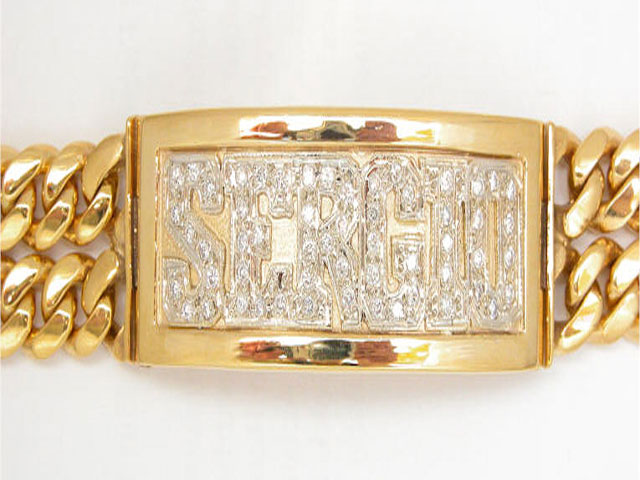 gold bracelets for menGold Bracelets For Men