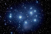 The Pleiades/Seven Sisters/M45, as imaged by Ed Lunt