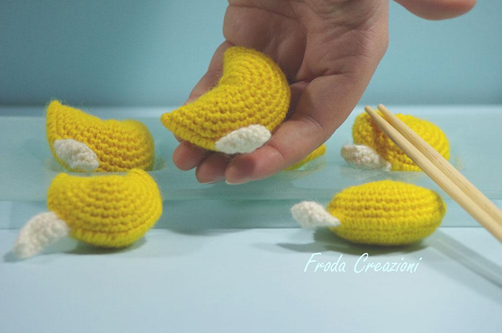 Amigurumi Fortune Cookie Pattern : Froda creazioni pattern amigurumi biscotti della