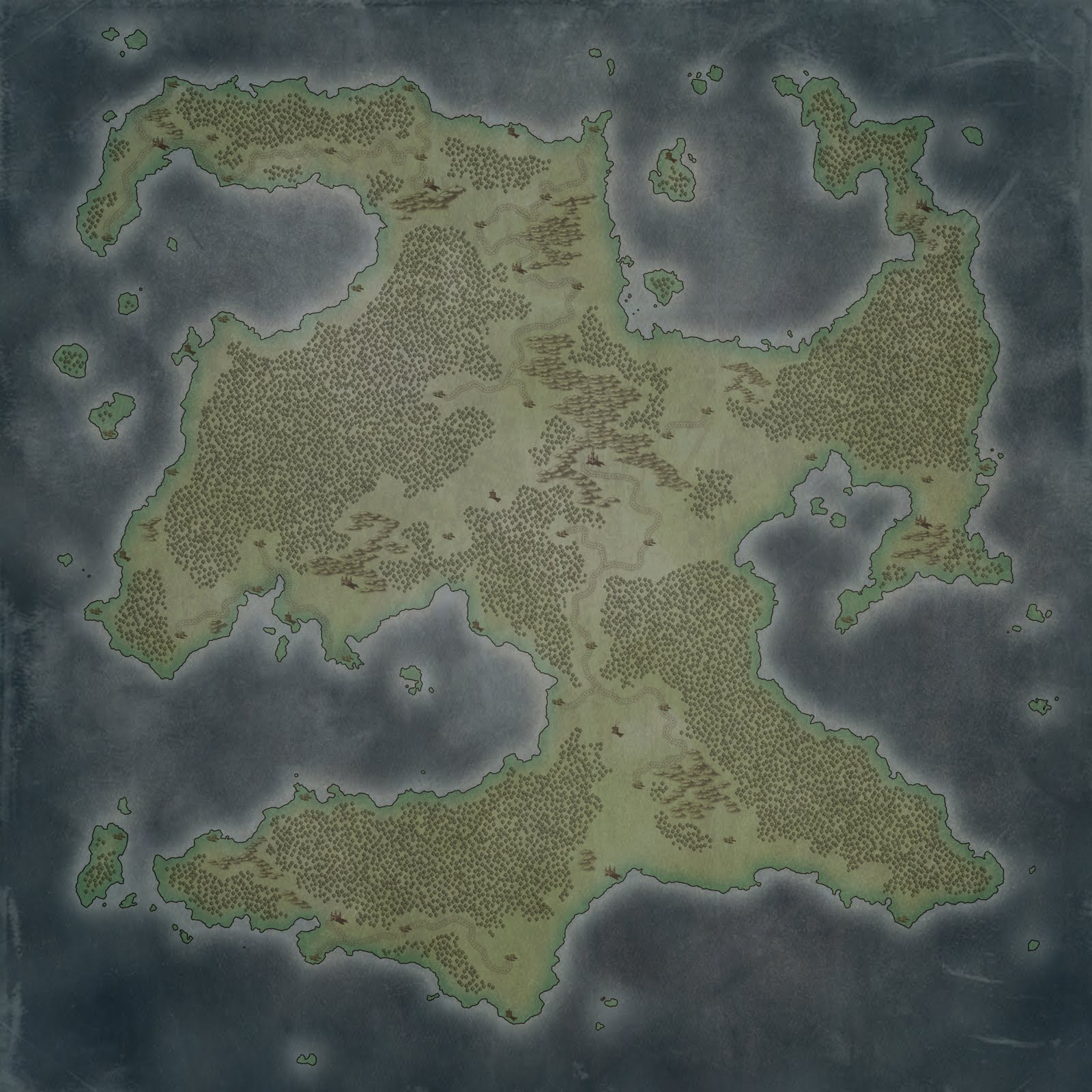 Monday Maps Free Continent Map The Labyrinth - Free continent maps