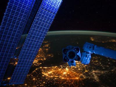 Ночная восточная Европа