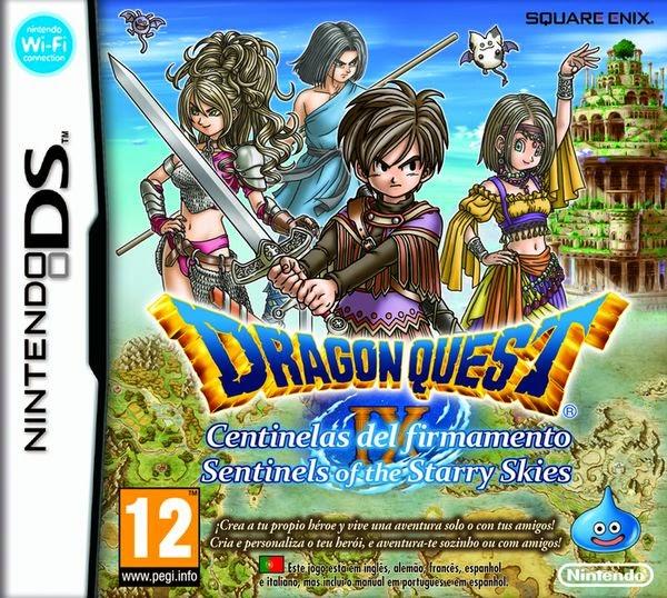 Dragon Quest IX: Centinelas del firmamento (Nintendo DS) (Español)