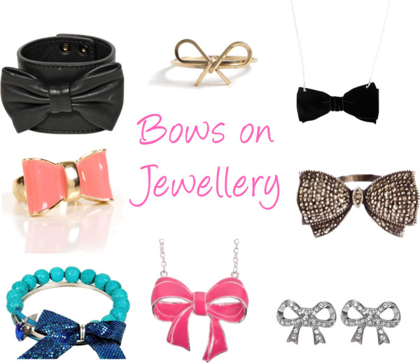 Polyvore Accessories Jewellery Bows Ribbons