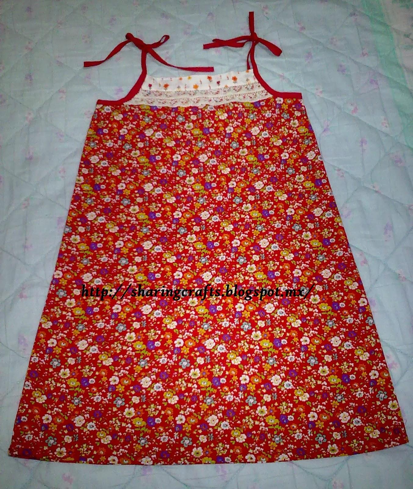 Como hacer un vestido facil para el verano