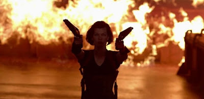 Resident Evil Retribution acción total