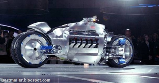 Worlds fastest bike - The Tomahawk.6