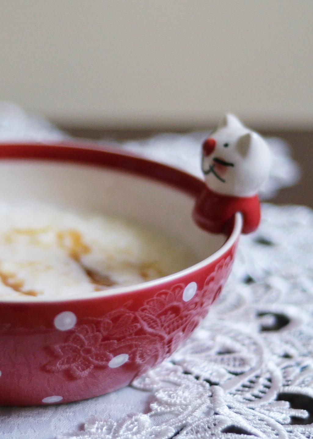 płatki ryżowe na mleku