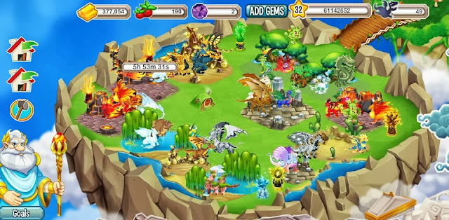 Dragon City Facebook App
