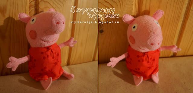 свинка пеппа выкройка