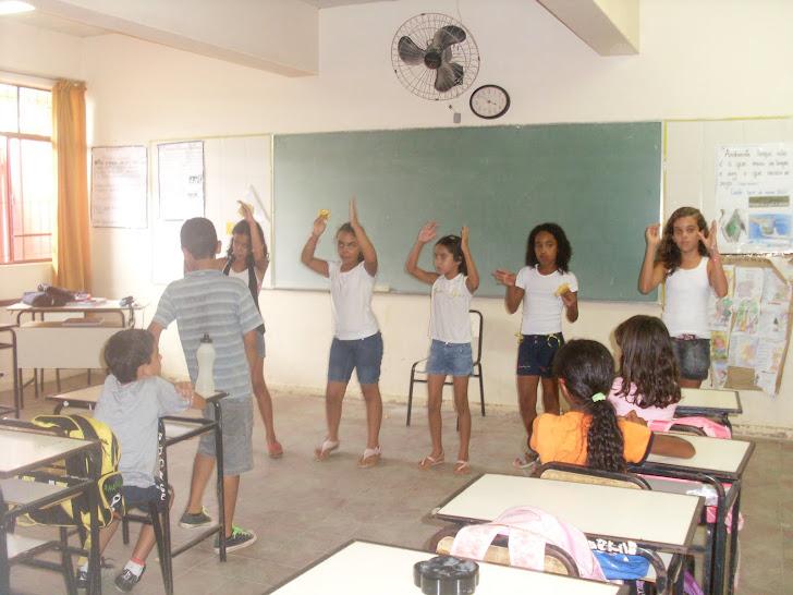 Aula de Artes- 4º ano- Dança