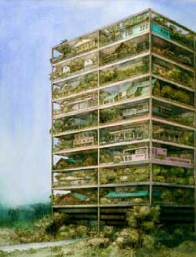 Laboratoire urbanisme insurrectionnel architecture nature for Architecture vegetale