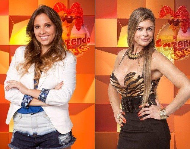 Angelis Borges e Manoella Stoltz (Foto: Reprodução/Record)