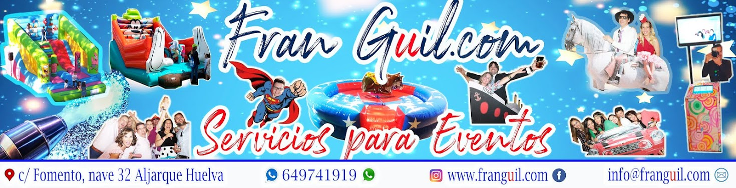 FRAN GUIL SERVICIOS PARA EVENTOS
