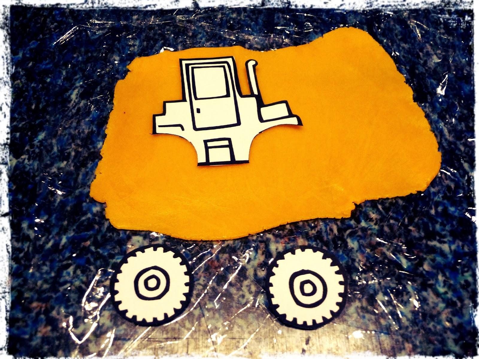 Pott artig kreativblog bagger kuchen zum ersten geburtstag