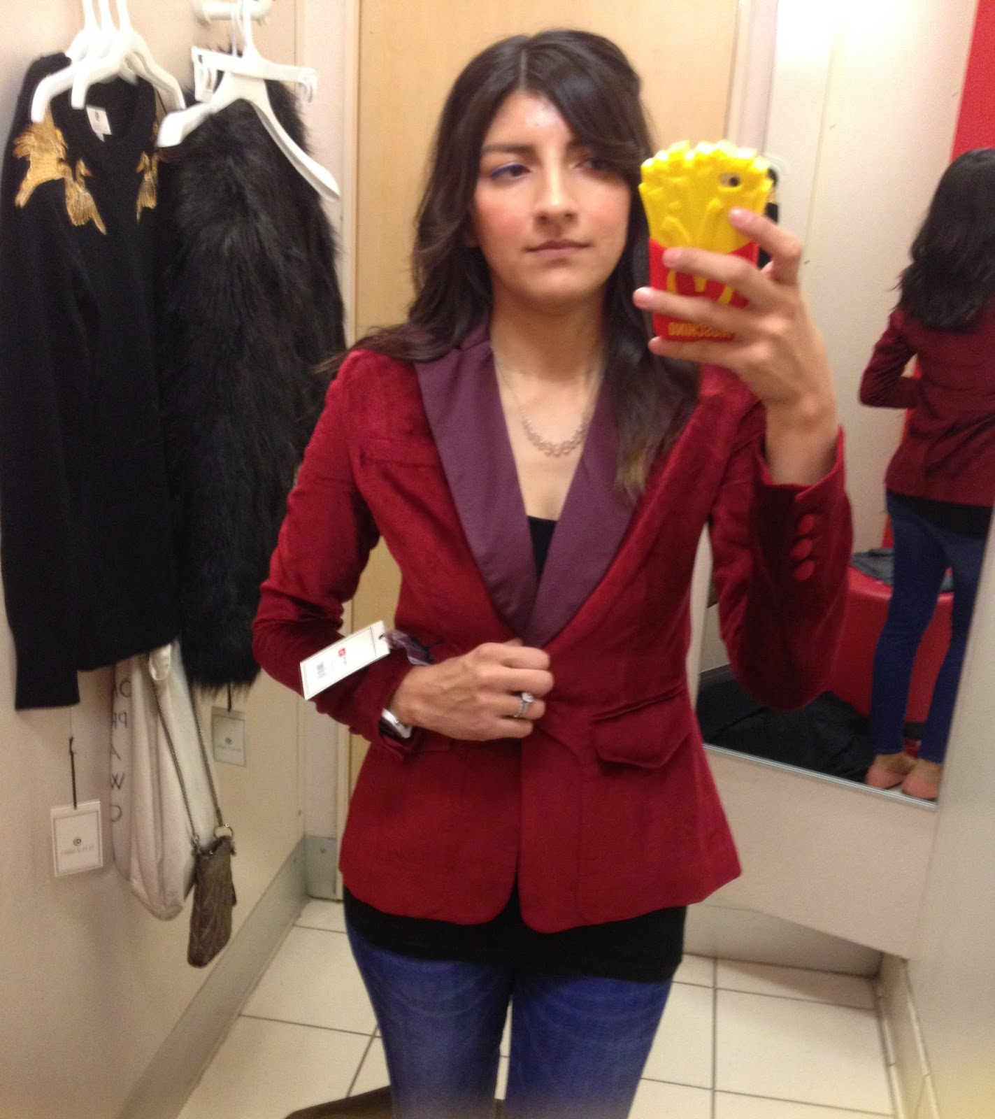altuzarra for target review velvet ruby hill blazer