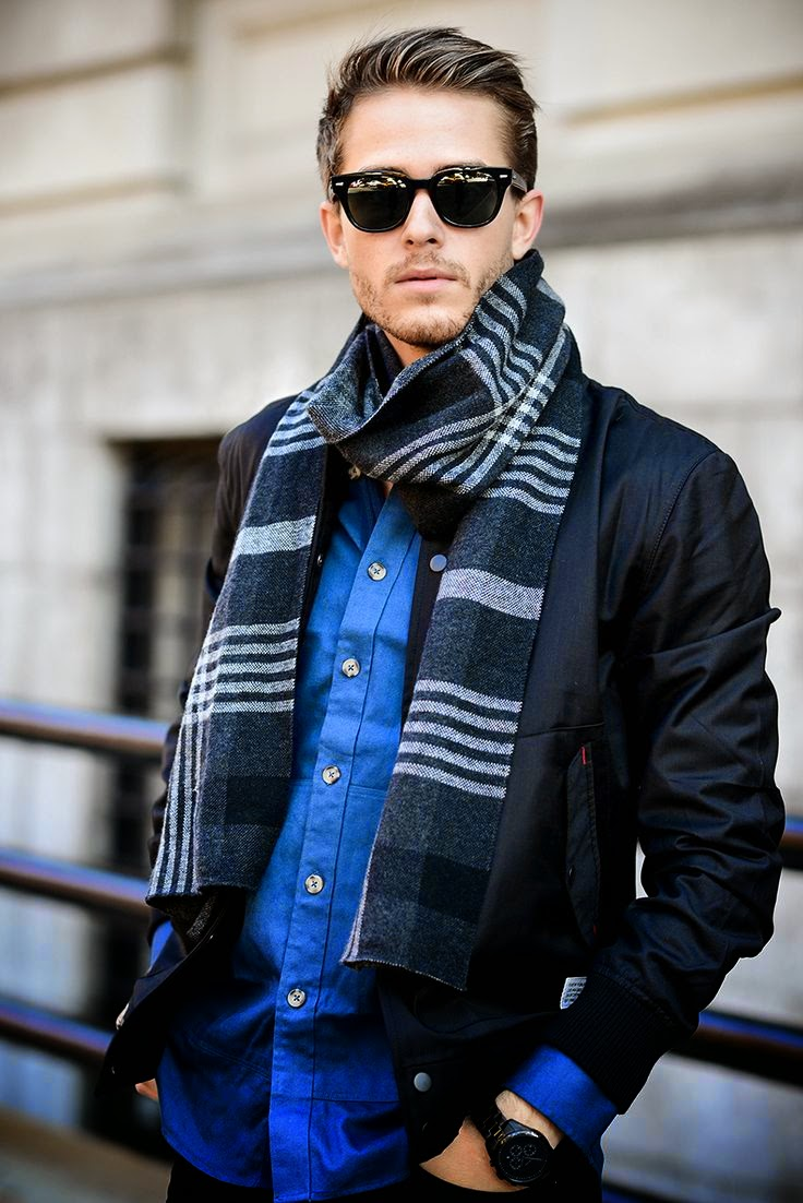 Galla stripe scarf