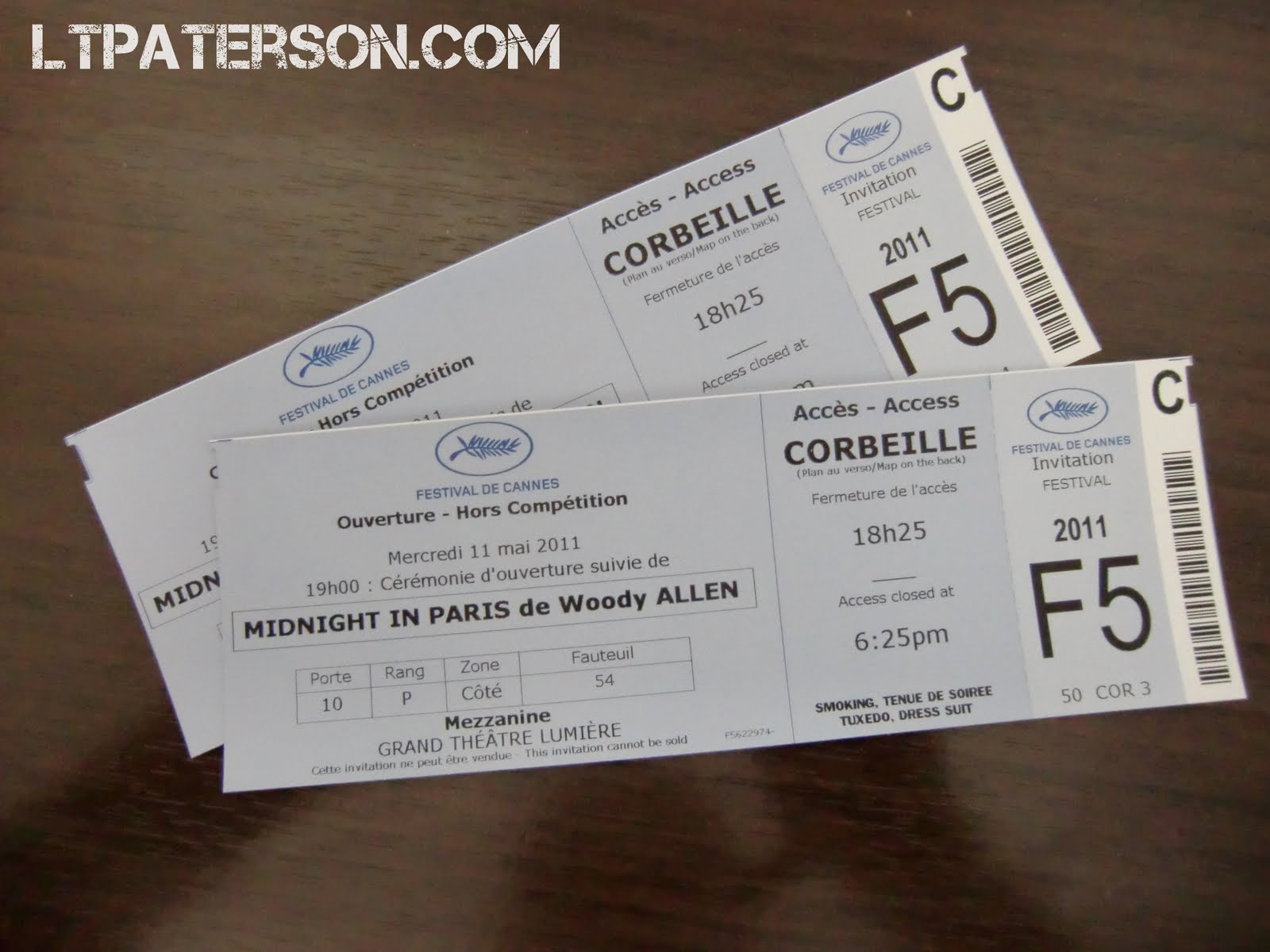 festival de cannes tickets