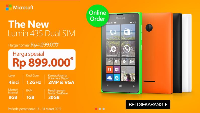 Promo Microsoft Lumia 435 Okeshop