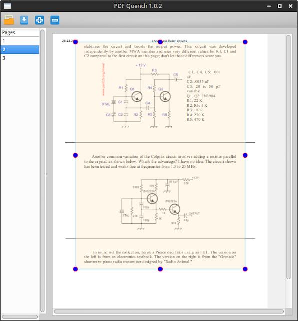 PDF Quench PDF crop