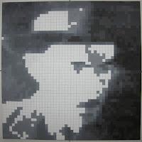 Fernando Pessoa: Pintura Quadrículas 10
